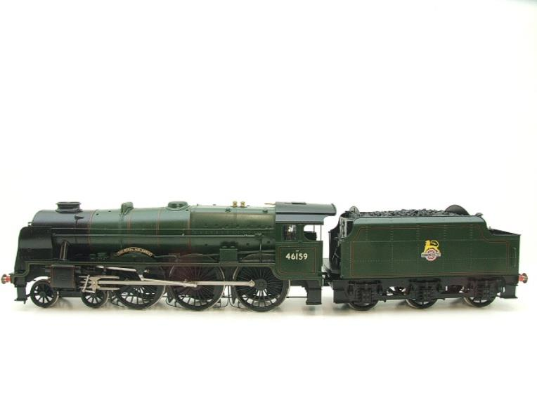 "Gauge 1 Fine Scale Brass BR Royal Scot Class ""The Royal Air Force"" R/N 46159 Electric 2 Rail image 16"