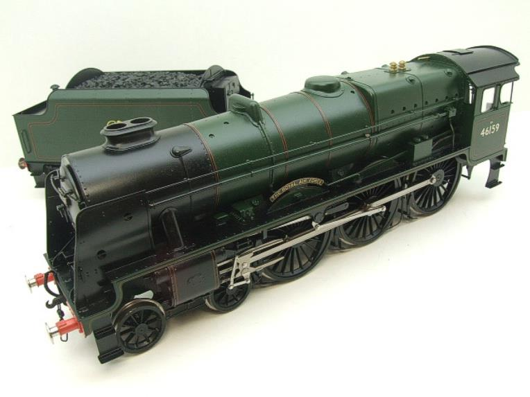 "Gauge 1 Fine Scale Brass BR Royal Scot Class ""The Royal Air Force"" R/N 46159 Electric 2 Rail image 17"