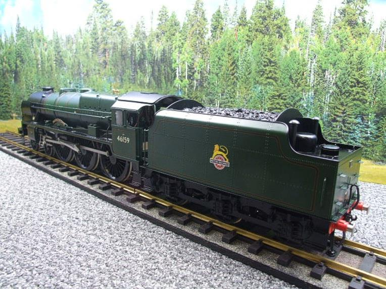 "Gauge 1 Fine Scale Brass BR Royal Scot Class ""The Royal Air Force"" R/N 46159 Electric 2 Rail image 18"