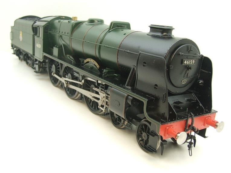 "Gauge 1 Fine Scale Brass BR Royal Scot Class ""The Royal Air Force"" R/N 46159 Electric 2 Rail image 19"