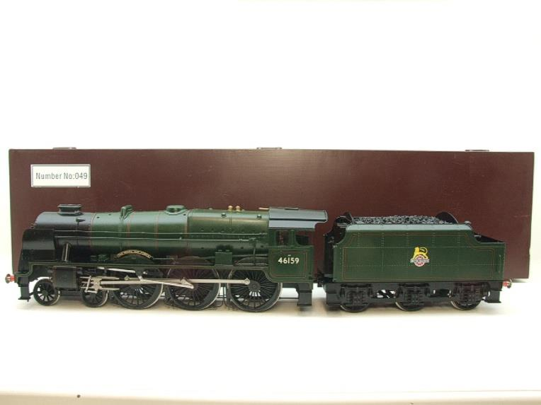 "Gauge 1 Fine Scale Brass BR Royal Scot Class ""The Royal Air Force"" R/N 46159 Electric 2 Rail image 20"