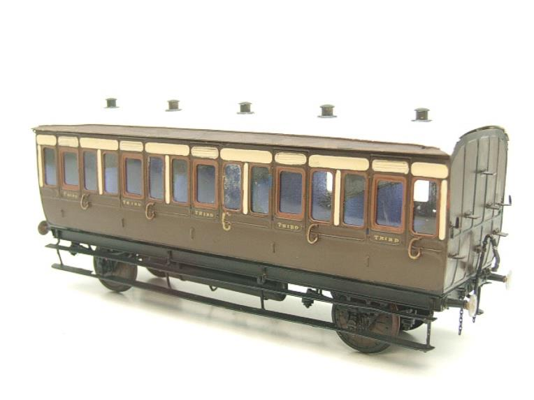 Mallard Models Brass O Gauge Fine Scale GWR All 3rd Passenger Coach Boxed image 14