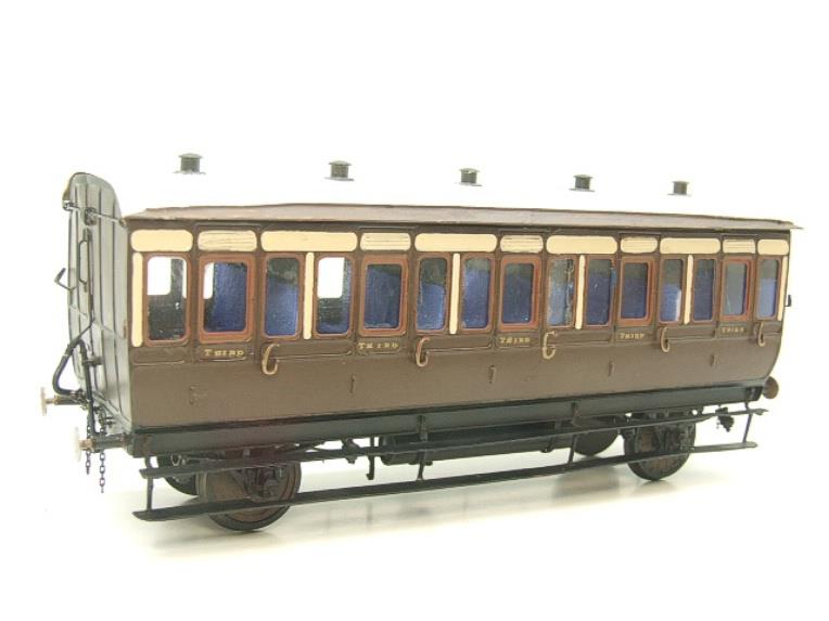 Mallard Models Brass O Gauge Fine Scale GWR All 3rd Passenger Coach Boxed image 15