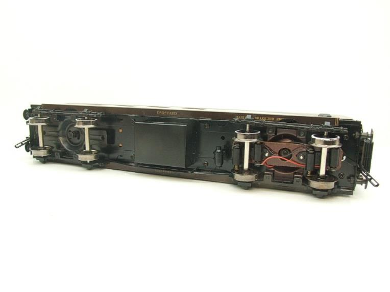 "Darstaed O Gauge Golden Arrow Parlour Brake 3rd ""Montana"" Grey Roof Pullman Coach 2/3 Rail Bxd image 12"