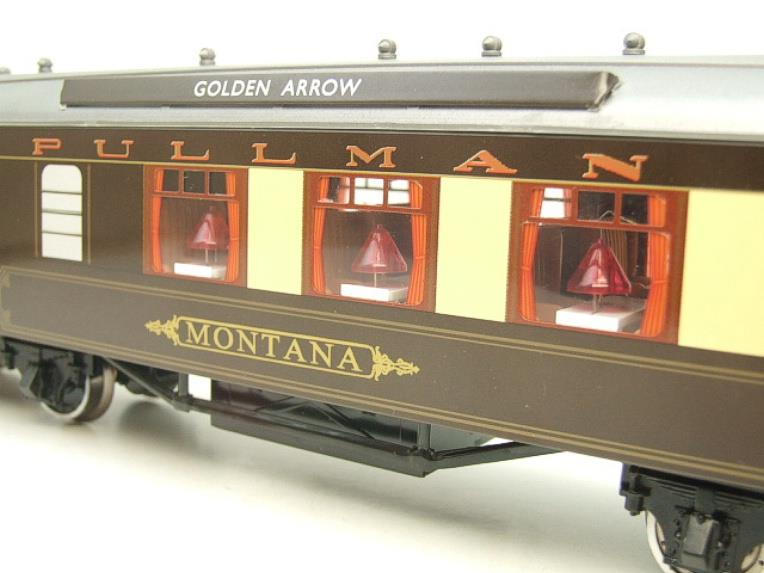 "Darstaed O Gauge Golden Arrow Parlour Brake 3rd ""Montana"" Grey Roof Pullman Coach 2/3 Rail Bxd image 14"