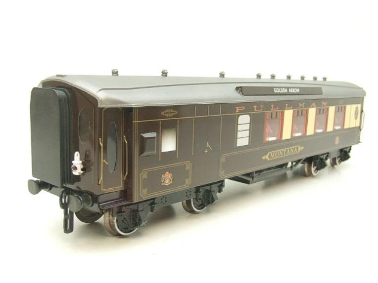 "Darstaed O Gauge Golden Arrow Parlour Brake 3rd ""Montana"" Grey Roof Pullman Coach 2/3 Rail Bxd image 15"