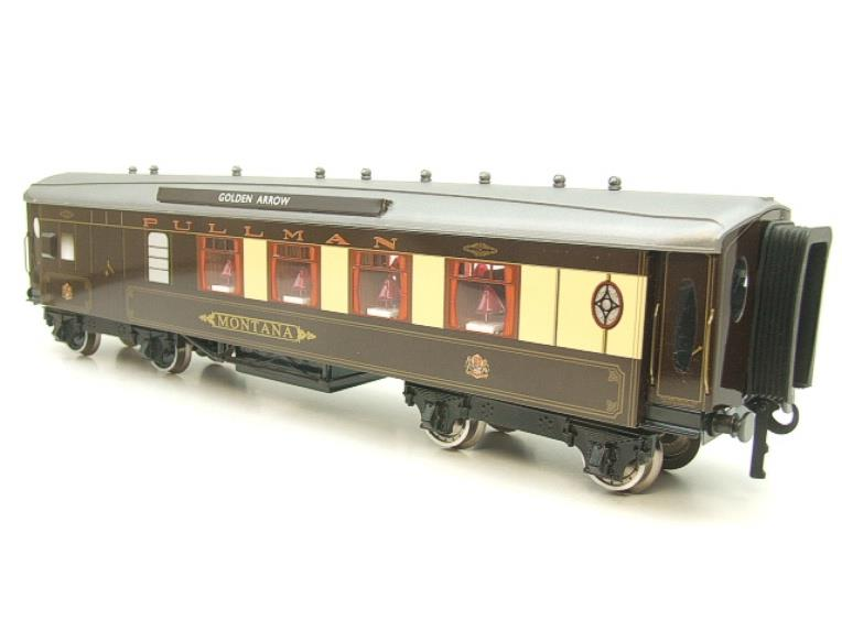 "Darstaed O Gauge Golden Arrow Parlour Brake 3rd ""Montana"" Grey Roof Pullman Coach 2/3 Rail Bxd image 18"