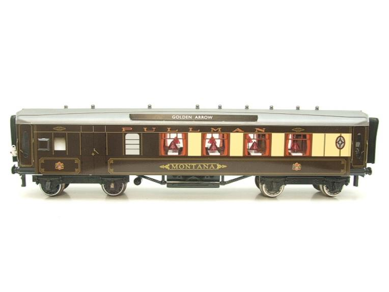 "Darstaed O Gauge Golden Arrow Parlour Brake 3rd ""Montana"" Grey Roof Pullman Coach 2/3 Rail Bxd image 19"