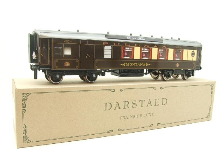 "Darstaed O Gauge Golden Arrow Parlour Brake 3rd ""Montana"" Grey Roof Pullman Coach 2/3 Rail Bxd image 20"