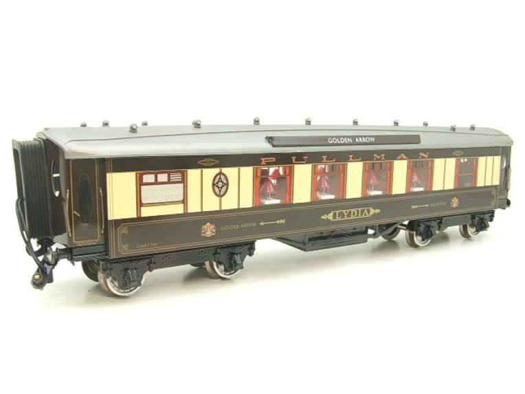 "Darstaed O Gauge Golden Arrow Kitchen 1st ""Lydia"" Grey Roof Pullman Coach 2/3 Rail Bxd image 16"