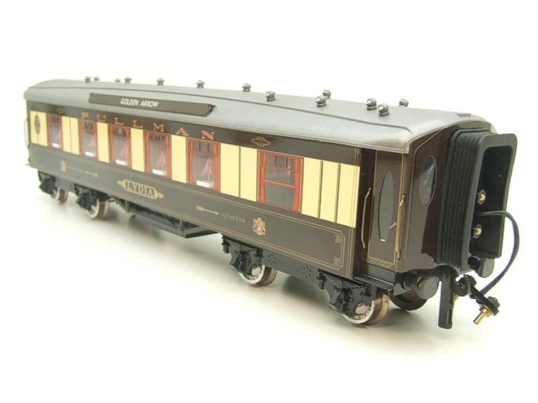 "Darstaed O Gauge Golden Arrow Kitchen 1st ""Lydia"" Grey Roof Pullman Coach 2/3 Rail Bxd image 17"