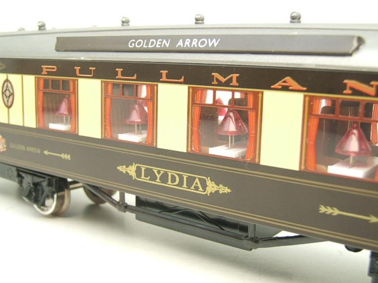 "Darstaed O Gauge Golden Arrow Kitchen 1st ""Lydia"" Grey Roof Pullman Coach 2/3 Rail Bxd image 18"