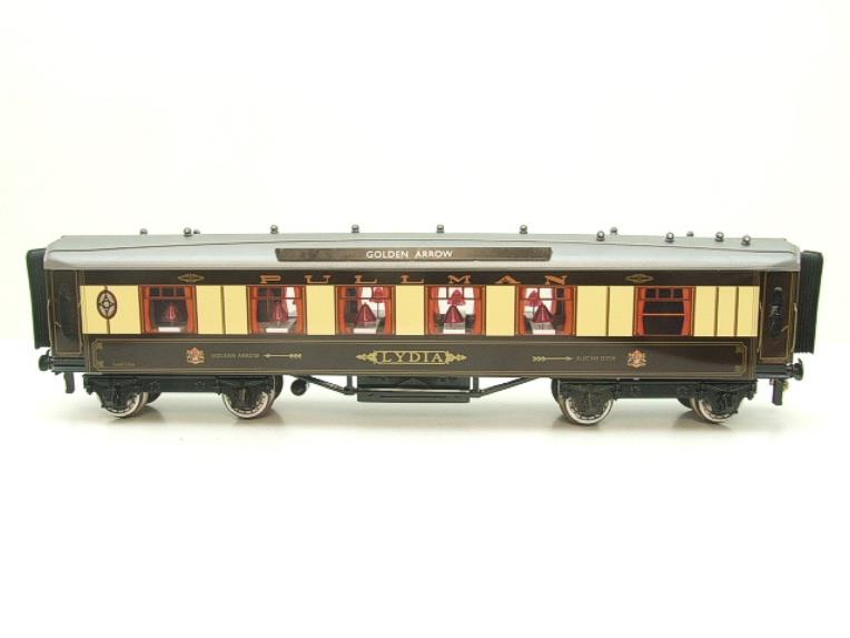 "Darstaed O Gauge Golden Arrow Kitchen 1st ""Lydia"" Grey Roof Pullman Coach 2/3 Rail Bxd image 19"