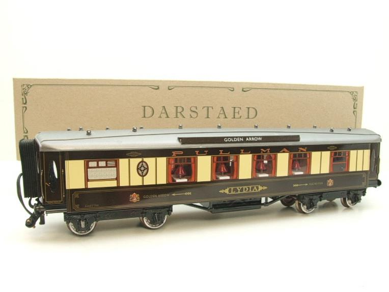 "Darstaed O Gauge Golden Arrow Kitchen 1st ""Lydia"" Grey Roof Pullman Coach 2/3 Rail Bxd image 20"