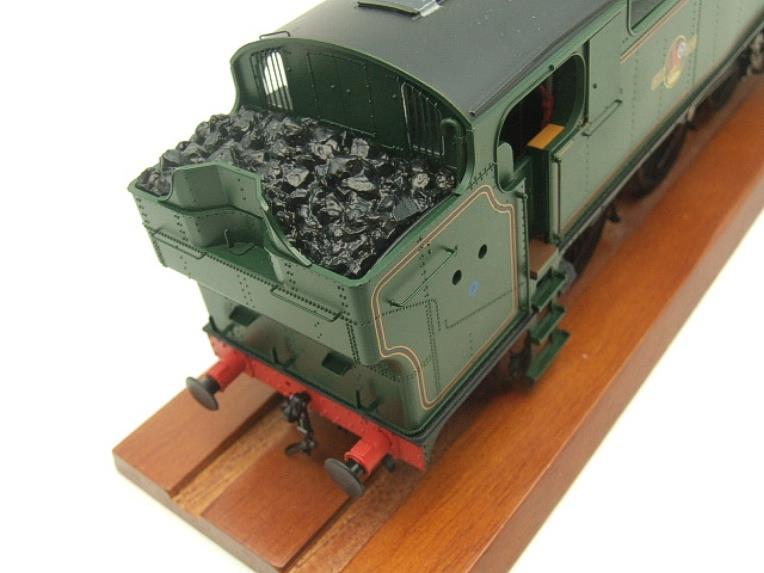 Heljan O Gauge Item 6123 BR Green Late Crest Class 61xx Large Prairie Tank Loco Un Numbered Electric image 12