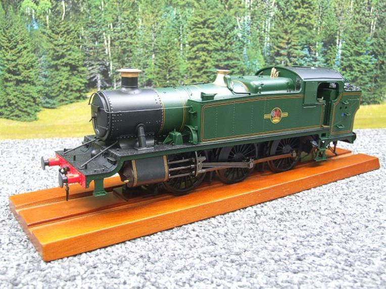 Heljan O Gauge Item 6123 BR Green Late Crest Class 61xx Large Prairie Tank Loco Un Numbered Electric image 15