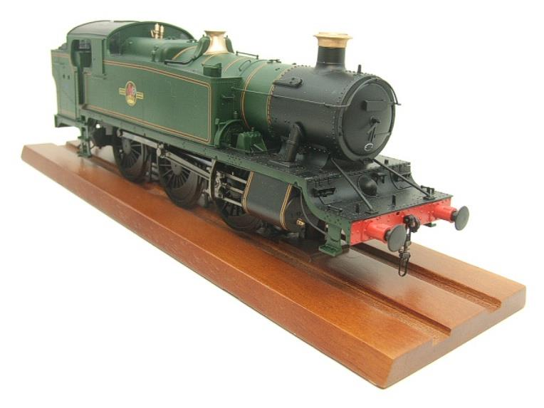 Heljan O Gauge Item 6123 BR Green Late Crest Class 61xx Large Prairie Tank Loco Un Numbered Electric image 16
