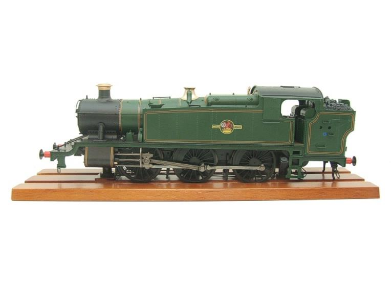 Heljan O Gauge Item 6123 BR Green Late Crest Class 61xx Large Prairie Tank Loco Un Numbered Electric image 17