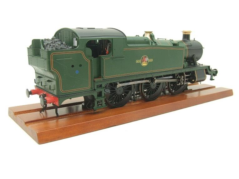 Heljan O Gauge Item 6123 BR Green Late Crest Class 61xx Large Prairie Tank Loco Un Numbered Electric image 19