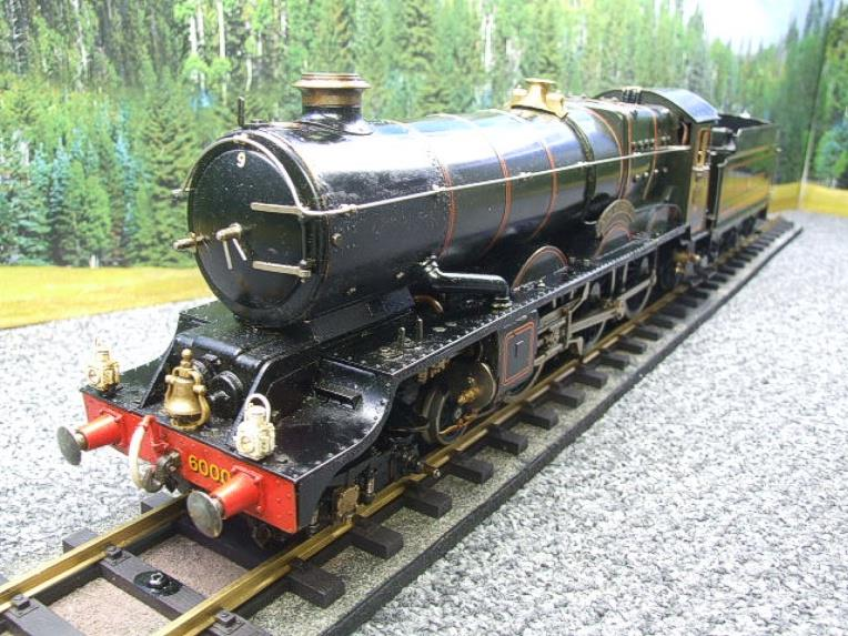 "Gauge 1 Aster GWR King Class ""King George V"" R/N 6000 Live Steam image 14"
