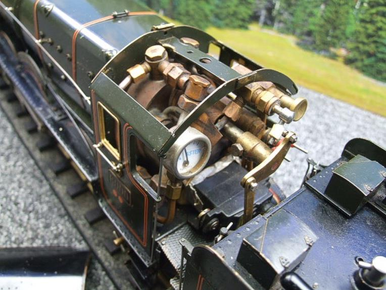 "Gauge 1 Aster GWR King Class ""King George V"" R/N 6000 Live Steam image 15"