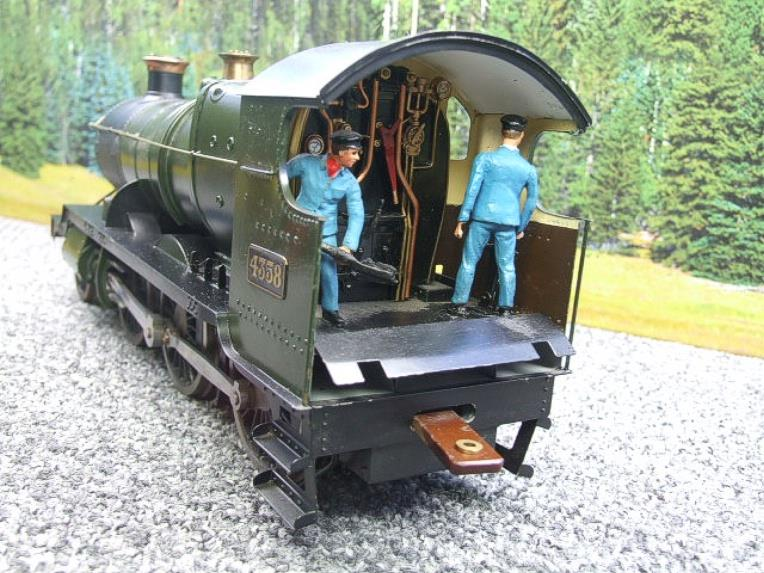 "Gauge 1 Brass Finescale GWR ""Mogul"" 2-6-0 Loco & Tender R/N 4358 Electric 2 Rail image 11"