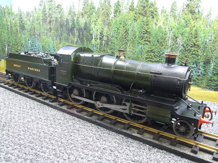 "Gauge 1 Brass Finescale GWR ""Mogul"" 2-6-0 Loco & Tender R/N 4358 Electric 2 Rail image 17"