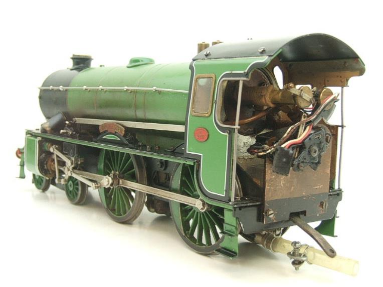"Gauge 1 Aster SR Southern Schools Class 4-4-0 Loco & Tender ""Winchester"" R/N 901 Live Steam image 12"