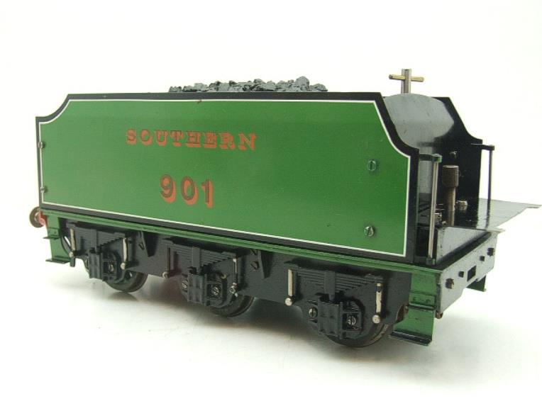 "Gauge 1 Aster SR Southern Schools Class 4-4-0 Loco & Tender ""Winchester"" R/N 901 Live Steam image 16"