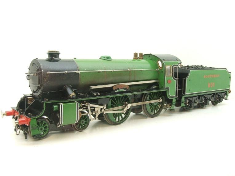 "Gauge 1 Aster SR Southern Schools Class 4-4-0 Loco & Tender ""Winchester"" R/N 901 Live Steam image 20"