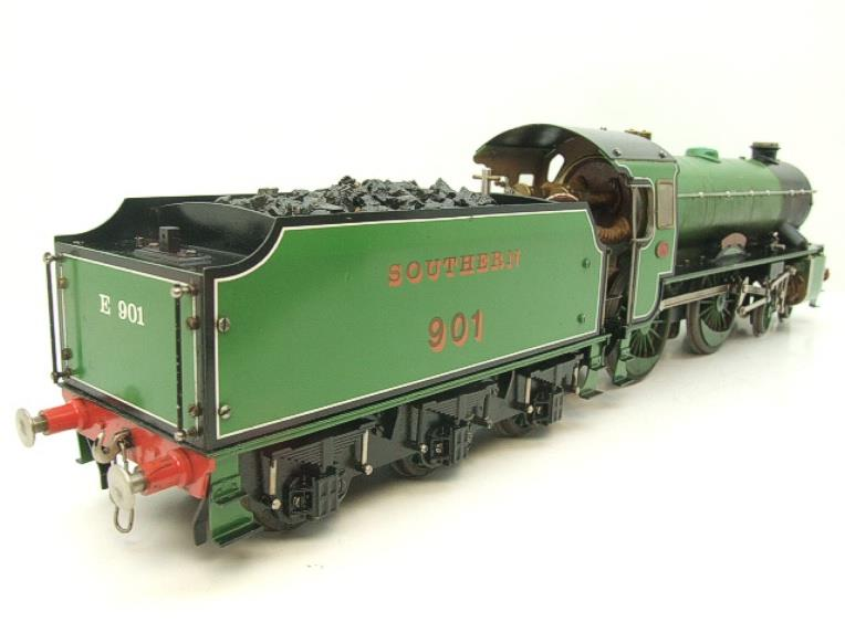 "Gauge 1 Aster SR Southern Schools Class 4-4-0 Loco & Tender ""Winchester"" R/N 901 Live Steam image 21"