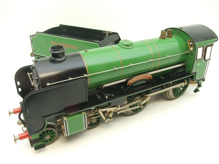 "Gauge 1 Aster SR Southern 4-4-0 Schools Class ""Winchester"" R/N 901 Live Steam image 11"