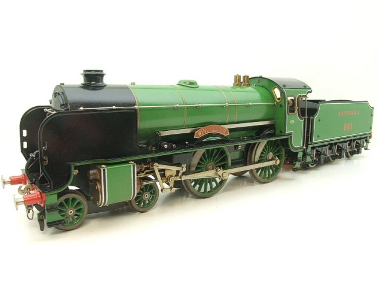 "Gauge 1 Aster SR Southern 4-4-0 Schools Class ""Winchester"" R/N 901 Live Steam image 18"