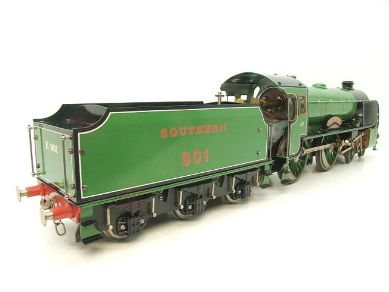 "Gauge 1 Aster SR Southern 4-4-0 Schools Class ""Winchester"" R/N 901 Live Steam image 21"