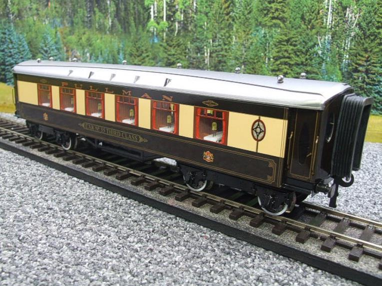 "Darstaed O Gauge Parlour 3rd ""Car No 35 Third Class"" Grey Roof Pullman Coach Boxed image 11"