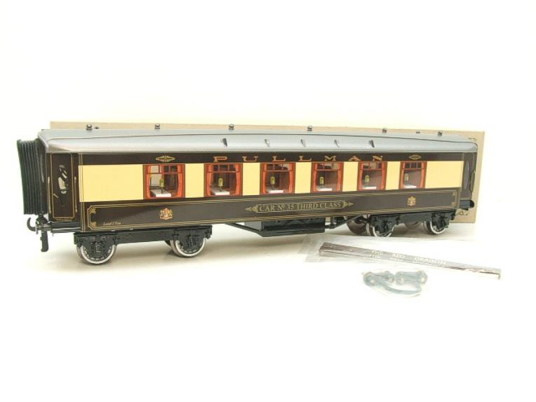 "Darstaed O Gauge Parlour 3rd ""Car No 35 Third Class"" Grey Roof Pullman Coach Boxed image 15"