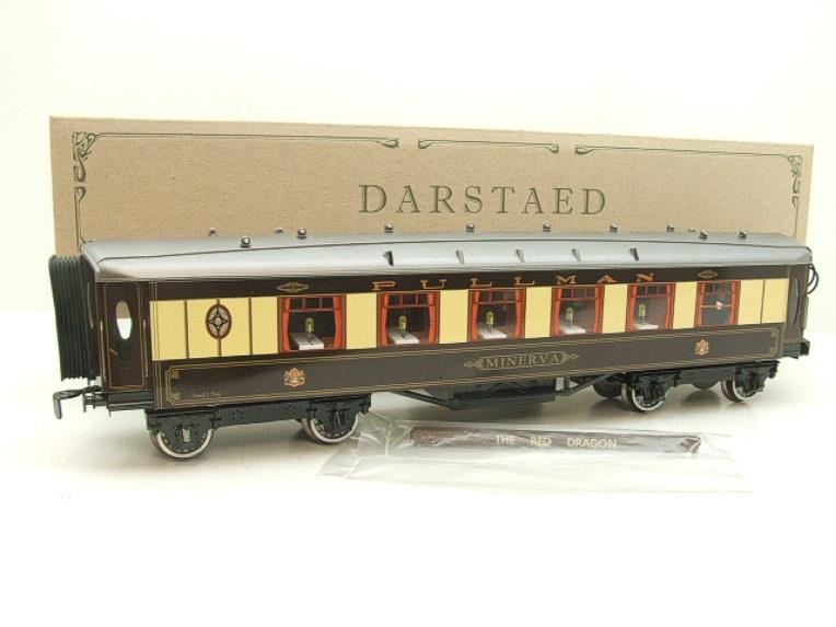 "Darstaed O Gauge Parlour 1st ""Minerva"" Grey Roof Pullman Coach Boxed image 15"