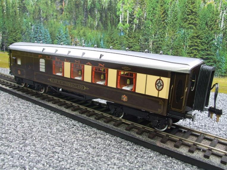 "Darstaed O Gauge Parlour Brake 3rd ""Car No 65"" Grey Roof Pullman Coach image 11"