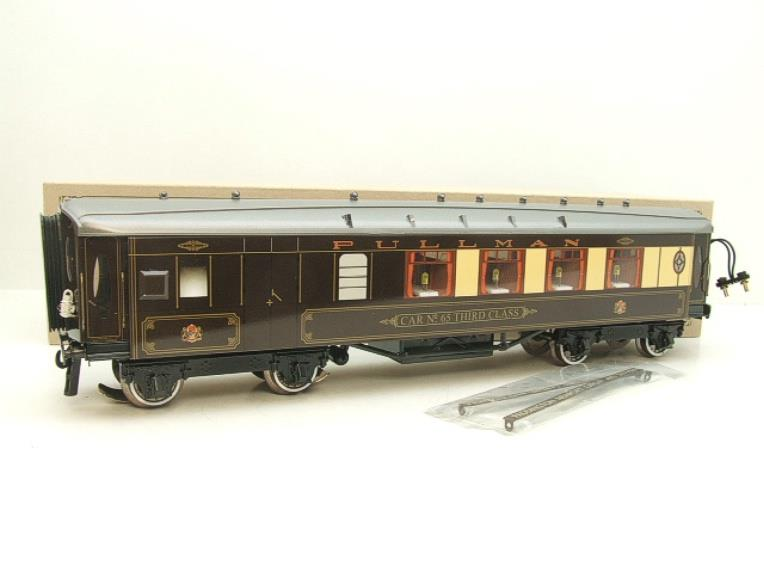 "Darstaed O Gauge Parlour Brake 3rd ""Car No 65"" Grey Roof Pullman Coach image 15"