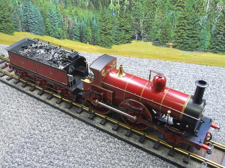 Gauge 1 Brass Fine Scale Victorian Connection MR Kirtley 2-4-0 Loco & Tender R/N 814 Electric 2 Rail image 11