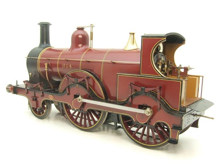 Gauge 1 Brass Fine Scale Victorian Connection MR Kirtley 2-4-0 Loco & Tender R/N 814 Electric 2 Rail image 12