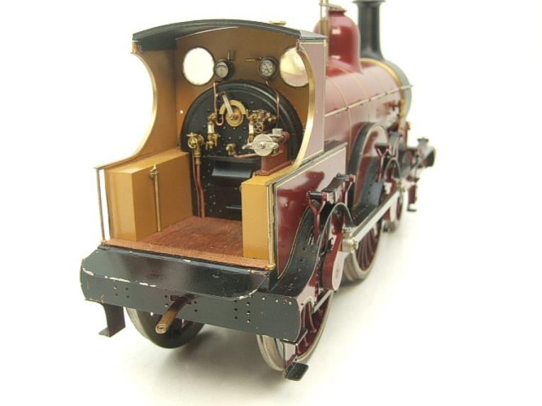 Gauge 1 Brass Fine Scale Victorian Connection MR Kirtley 2-4-0 Loco & Tender R/N 814 Electric 2 Rail image 13