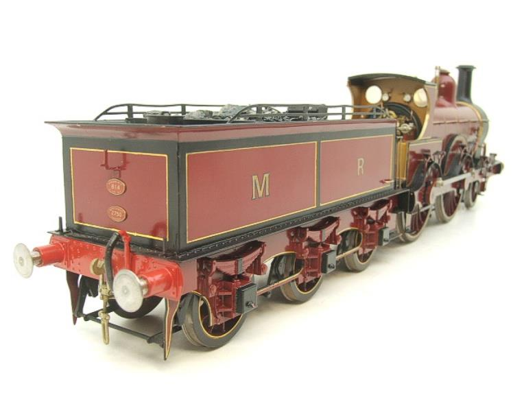 Gauge 1 Brass Fine Scale Victorian Connection MR Kirtley 2-4-0 Loco & Tender R/N 814 Electric 2 Rail image 18