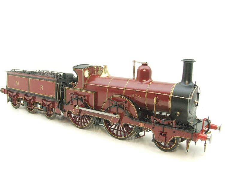 Gauge 1 Brass Fine Scale Victorian Connection MR Kirtley 2-4-0 Loco & Tender R/N 814 Electric 2 Rail image 19