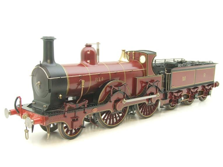 Gauge 1 Brass Fine Scale Victorian Connection MR Kirtley 2-4-0 Loco & Tender R/N 814 Electric 2 Rail image 20