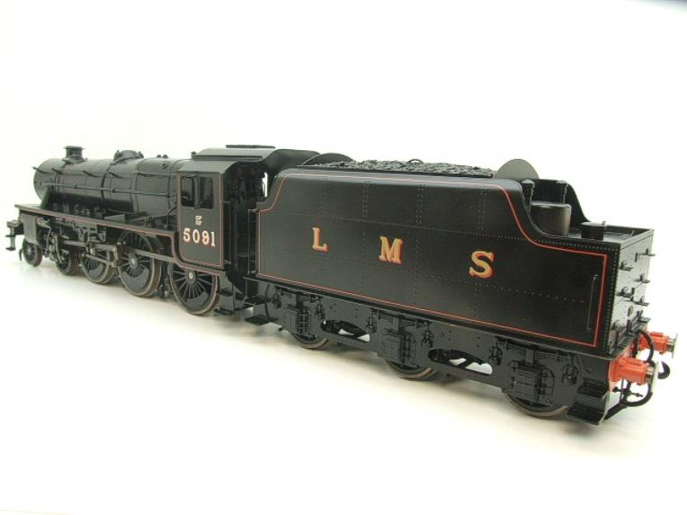 "Gauge 1 Accucraft LMS ""Black Five"" 4-6-0 Loco & Tender R/N 5091 Electric/Battery 2 Rail Fine Scale image 20"