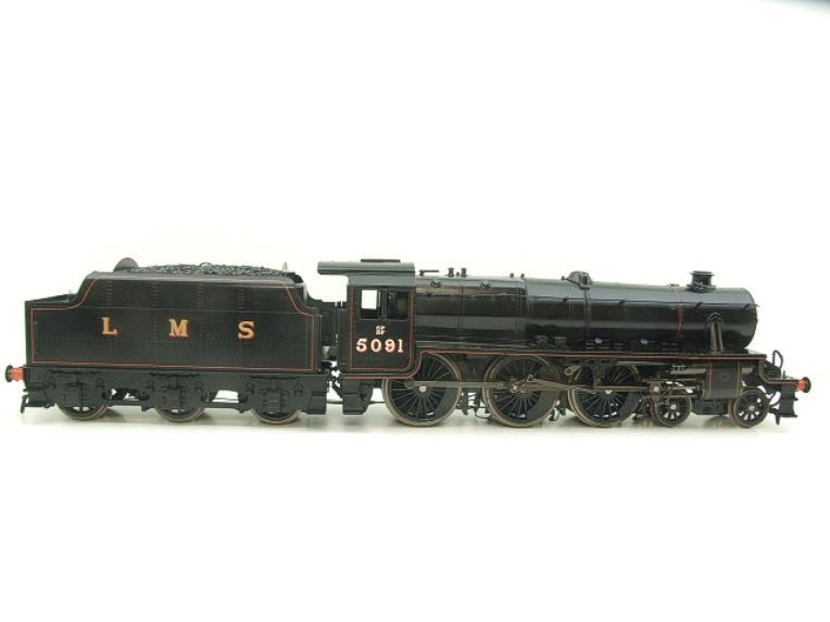 "Gauge 1 Accucraft LMS ""Black Five"" 4-6-0 Loco & Tender R/N 5091 Electric/Battery 2 Rail Fine Scale image 21"