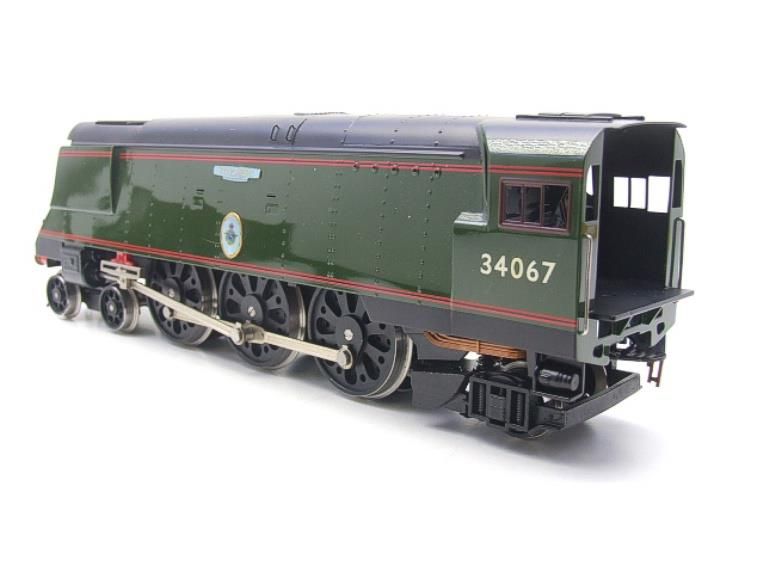 "Ace Trains O Gauge E9 Bulleid Pacific BR Green ""Tangmere"" R/N 34067 Bxd Elec 2/3 Rail image 12"