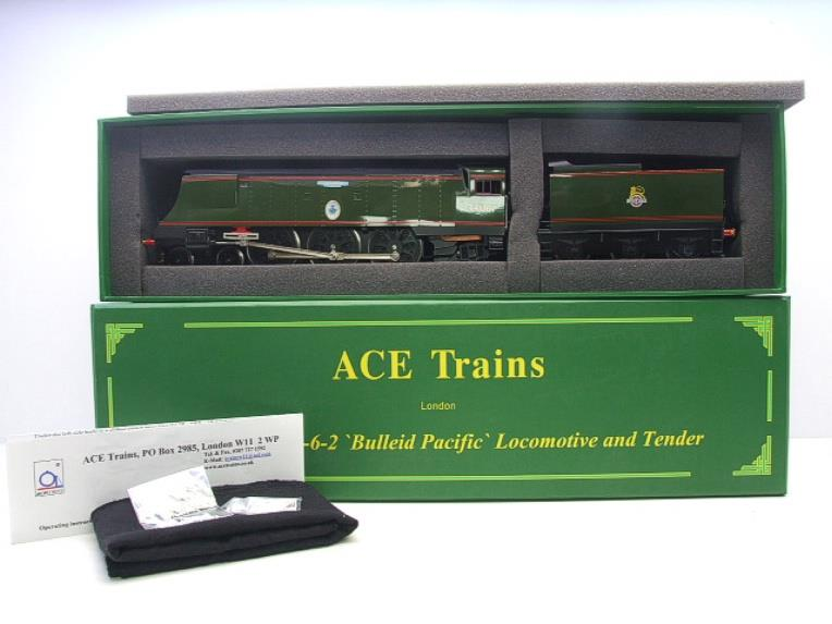 "Ace Trains O Gauge E9 Bulleid Pacific BR Green ""Tangmere"" R/N 34067 Bxd Elec 2/3 Rail image 15"