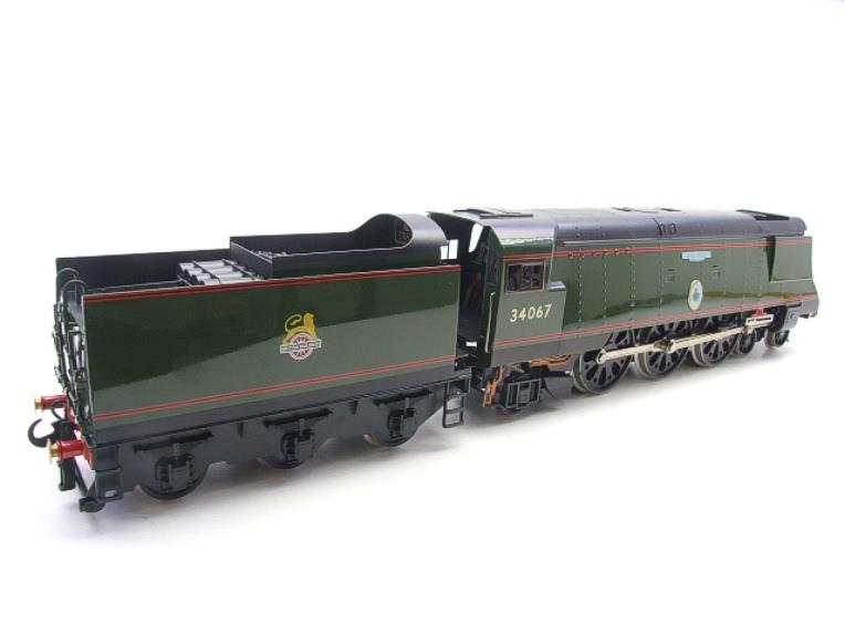 "Ace Trains O Gauge E9 Bulleid Pacific BR Green ""Tangmere"" R/N 34067 Bxd Elec 2/3 Rail image 16"